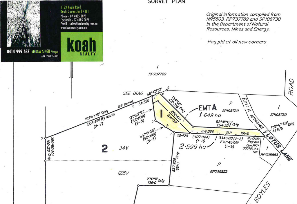 Koah Realty, Kuranda Properties for sale, Kuranda, Koah, Mareeba, Davies creek land for sale, davies creek, emerald falls,